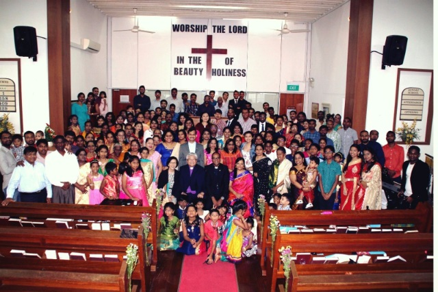 Seletar Tamil MC: Growing, preaching, and transforming lives