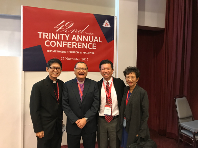 Fraternity connections with Malaysian Methodists