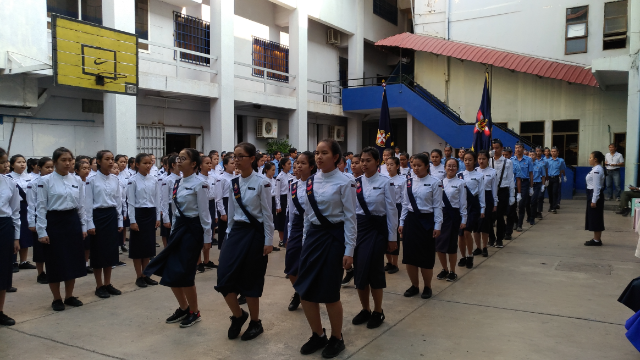 Raising female Cambodian leaders through 1st Phnom Penh GB Company