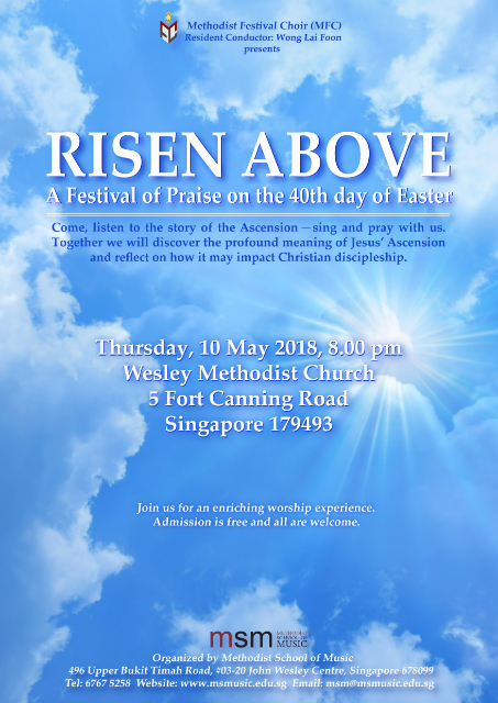 Risen Above: A festival on the 40th day of Easter