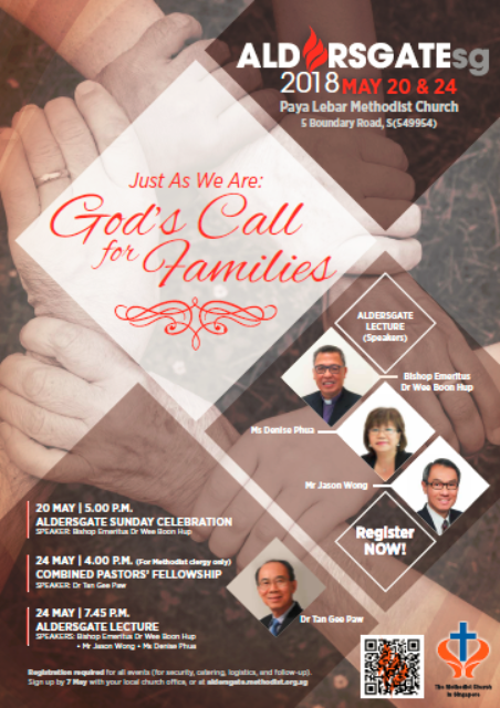 Calling all families, 'just as we are'
