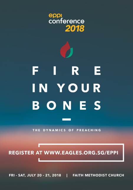 Fire up preaching with help from Eagles