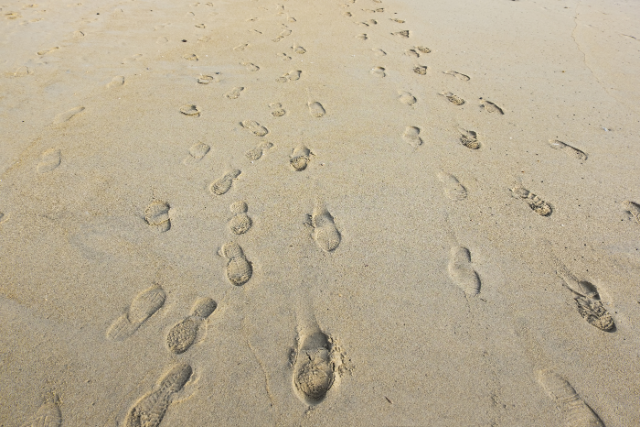 Our footprints