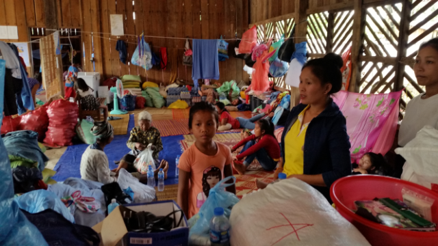 LAOS DISASTER RELIEF: AID FOR THE AIDERS