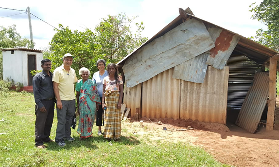 Reaching out to the War Widows in Sri Lanka