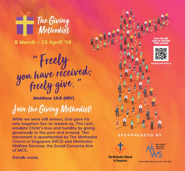 How you can contribute to The Giving Methodist 2019