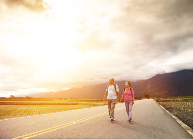 Walking to reinvigorate marriage