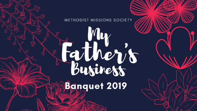 My Father's Business banquet 2019