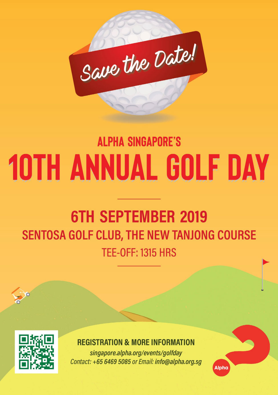 Alpha Singapore's 10th Annual Golf Day