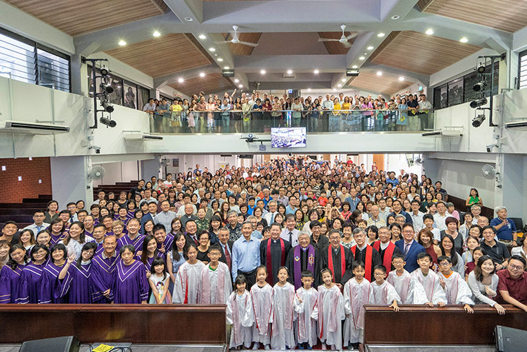Bukit Panjang Methodist Church:  Giving Thanks