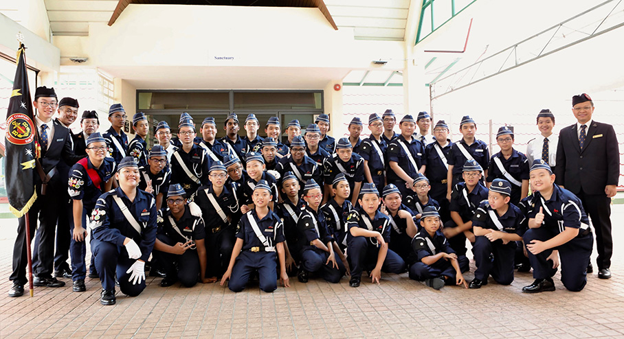 The Boys' Brigade in Singapore celebrates 90 years of enriching young lives!
