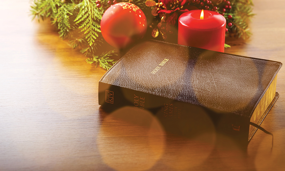 Have a peaceful Christmas season and a New Year with God's presence