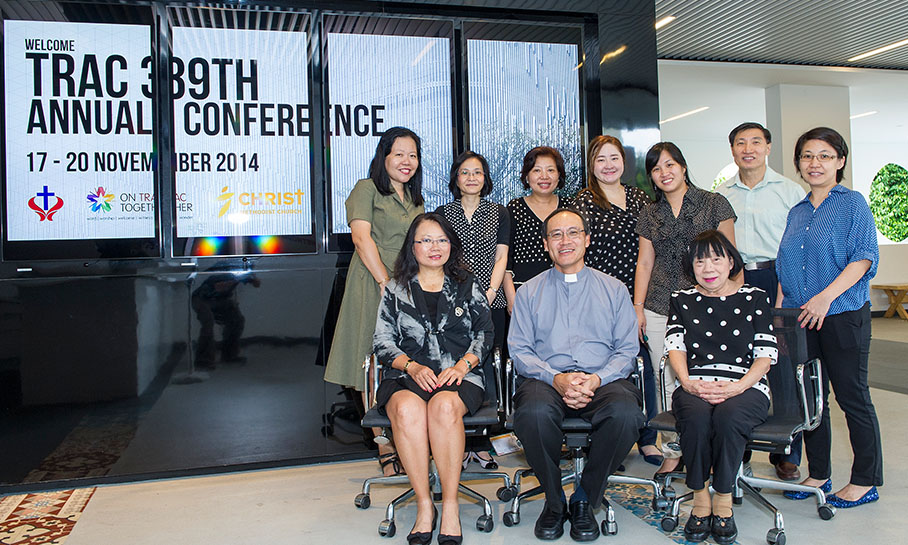 Bishop Dr Gordon Wong: The Lord's gentle leading